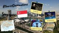 Singapore วิดีโอหน้าปก Facebook (16:9) template