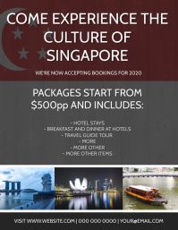Singapore Travel Tour Package Template