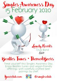 Singles Awareness Day Flyer