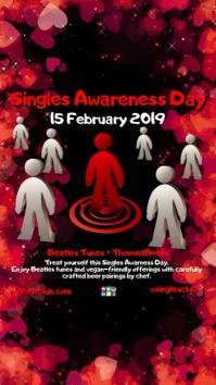 Singles Awareness Day Instagram Story