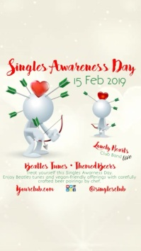 Singles Awareness Day Instagram Story