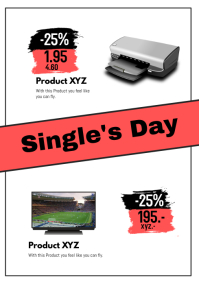 Singles Day Sale Special 11.11 Deals Discount
