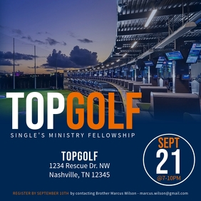 Singles Fellowship @ TopGolf
