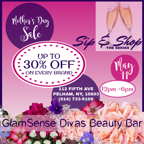 Sip& Shop mothers day