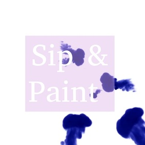 sip and Paint Instagram video
