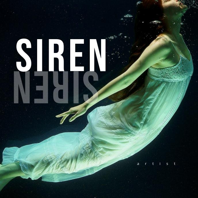 SIREN 专辑封面 template