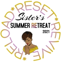 SISTER'S SUMMER RETREAT Logo template