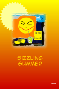 Sizzling Summer- customizable poster @postermywall