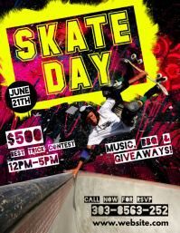 Skate Day Flyer