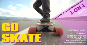Skate Facebook Ad template