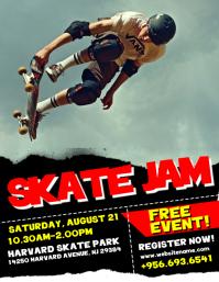 Skate Jam Flyer