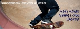 Skateboard Facebook Cover Photo