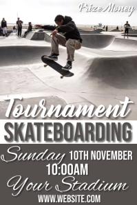 skateboarding Poster template