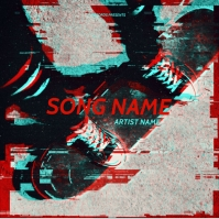 skateboards mixtape cover art design template