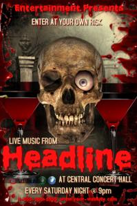 Skeleton Concert Template