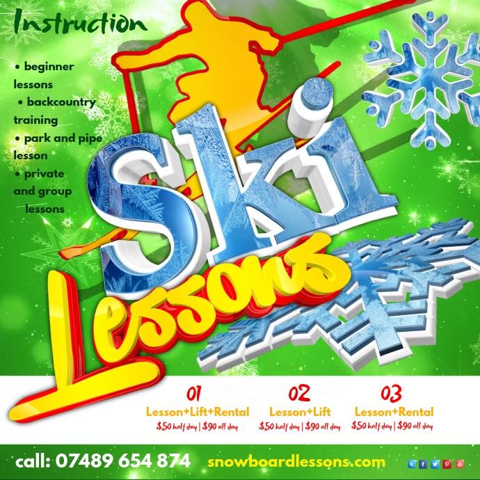 Ski Lessons Instagram