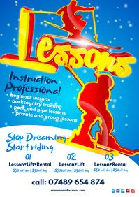 Ski Lessons Flyer