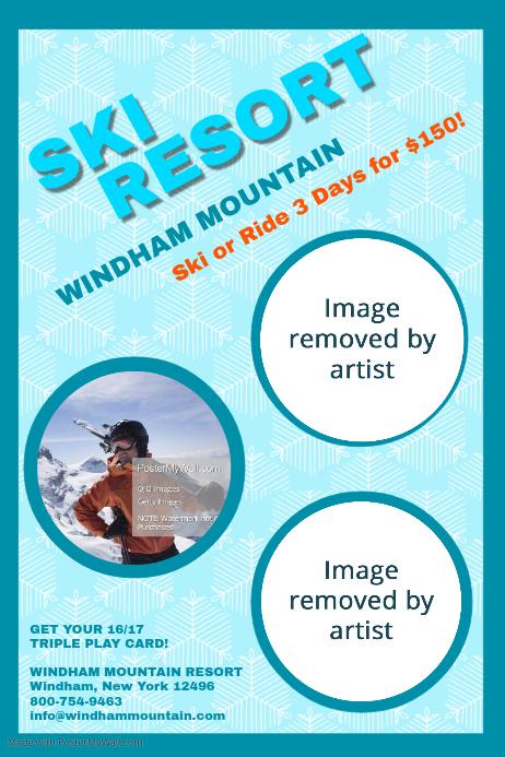 ski resort template