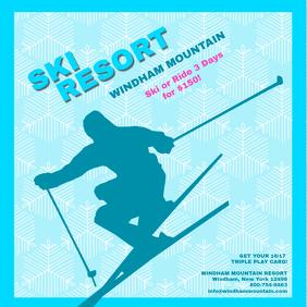 ski resort insta