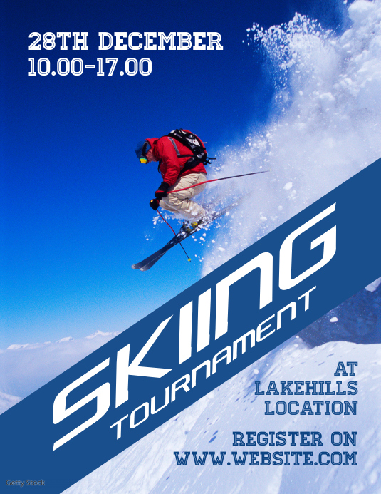 Skiing Tournament