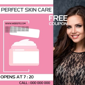SKIN CARE AD SOCIAL MEDIA TEMPLATE