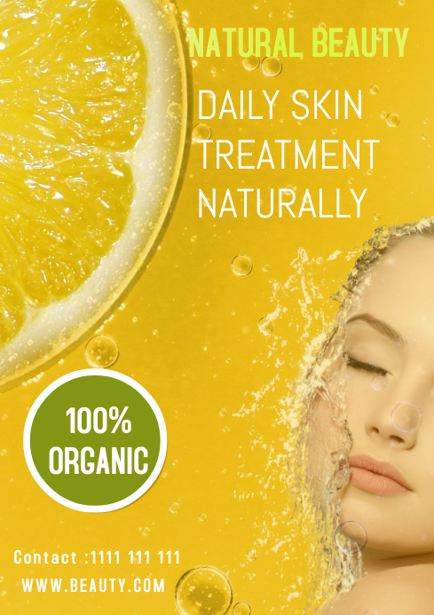 SKIN CARE BEAUTY TEMPLATE
