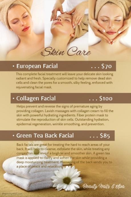Skin Care List