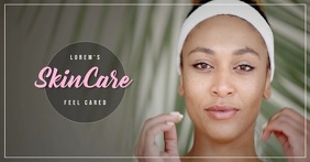 Skin Care Video Ad Facebook Shared Image template