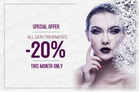 140 Skin Treatment Customizable Design Templates Postermywall