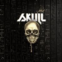 Skull Album Cover Art template