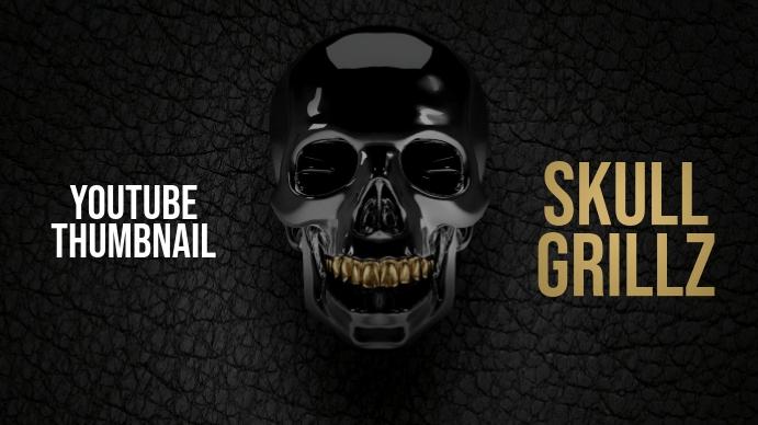 Skull Grillz Youtube Thumbnail