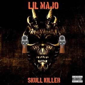 Skull k1ll3r Okładka albumu template