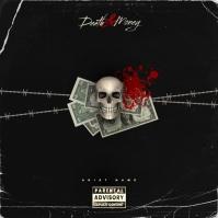 Skull Money Album Cover template