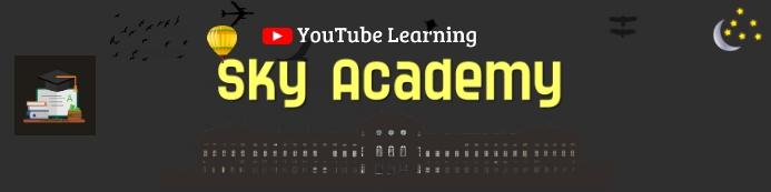 Sky Academy Spanduk 2' × 8' template