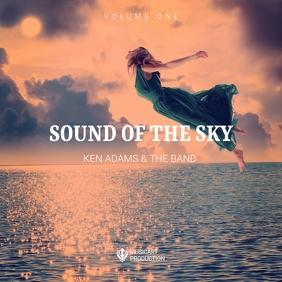 sky album cover template