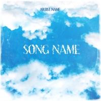 sky rap mixtape cover art design template Albumcover