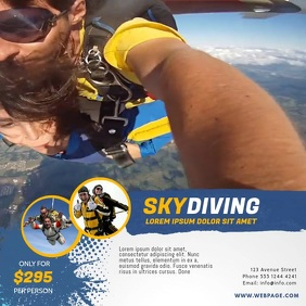 Skydiving Video Promotion Template