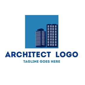 skyline real estate logo architect
