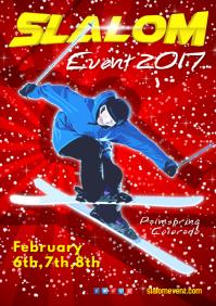 Slalom Poster
