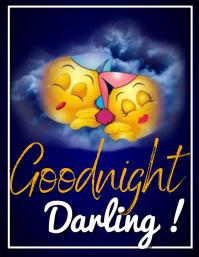 sleep flyer Volante (Carta US) template