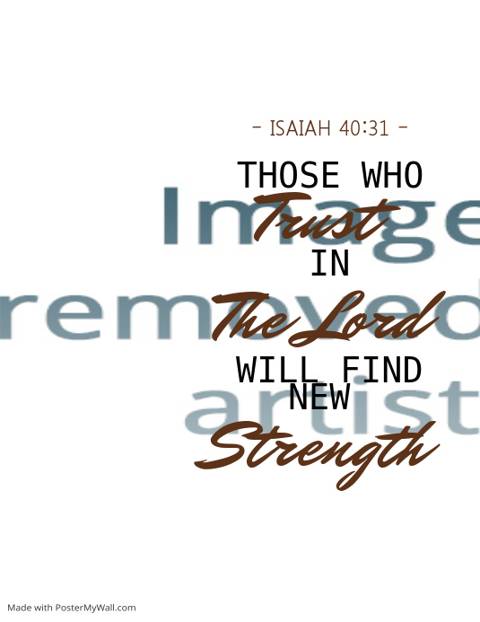 Slogan / Quote / Bible Verse Template