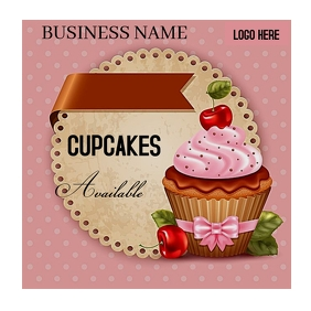 Small business Instagram Post template