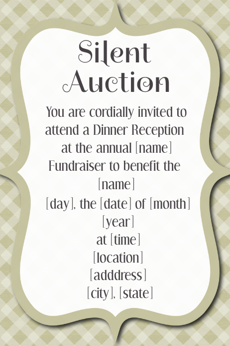 Small Business Dinner Dance reception event flyer poster
