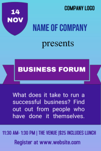 small business event flyer