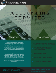small business flyer,accountin & professional service flyer