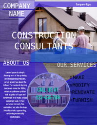 small business flyer,construction flyer,engineering flyer