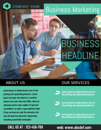 small business flyer,corporate flyer