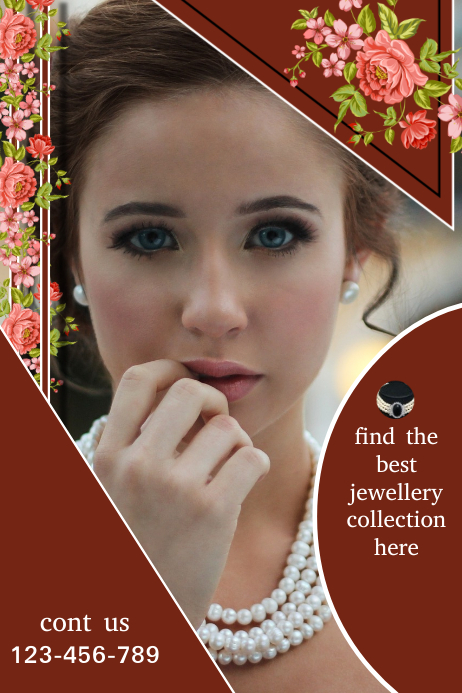 small business flyer,jewellery flyer