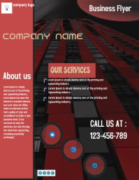 small business flyer,poster ,banner,template,corporate flyer