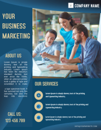 small business flyer,poster ,banner,template